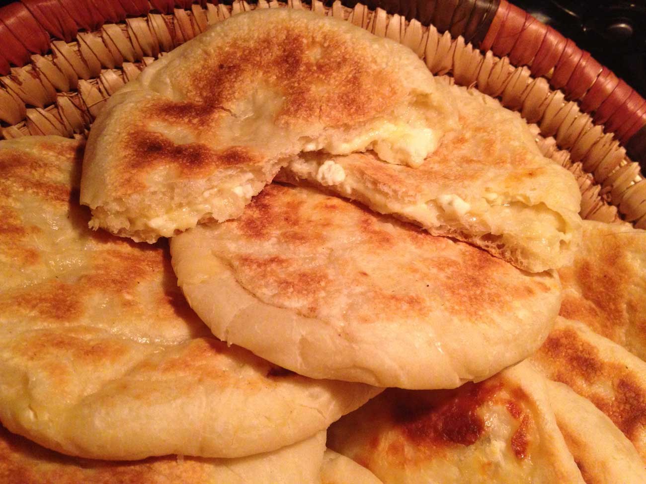 Kadeh kurdish jewish cheese bread jewish food experience for Ancient israelite cuisine