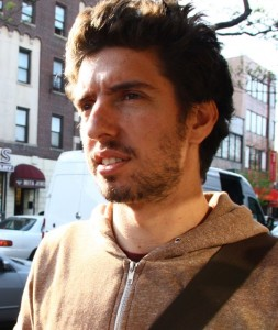 Filmmaker and Grandmas Project founder Jonas Parienté