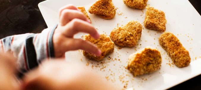 Sweet Potato Nuggets for Your Sweeties