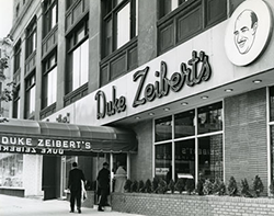 Duke's at 1722 L St NW, 1960s. Courtesy of the Historical Society of Washington, DC