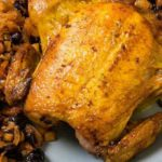 Whole Chicken with Dried Fruit Stuffing