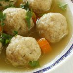<em>Matzeballen</em> (Traditional Dutch Matzah Balls)