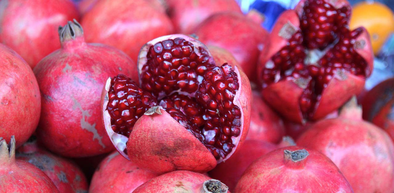 The Magical Mystical Pomegranate Jewish Food Experience
