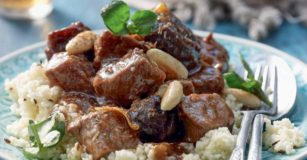 Marrakesh Beef Tagine with Prunes and Peanuts